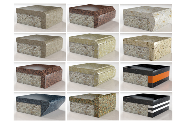 Столешница из натурального камня — плюсы и минусы